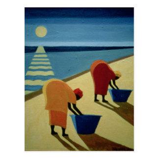 Beach Bums 1997 Postcard