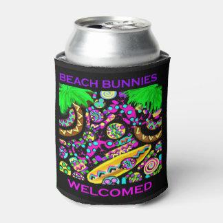 BEACH BUNNIES WELCOMED CAN COOLER