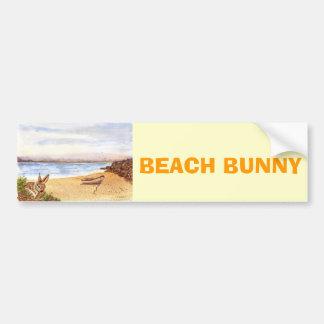 'Beach Bunny' Bumper Sticker