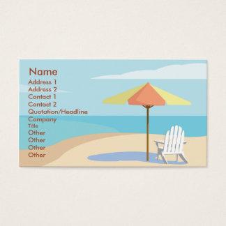 Beach - Business Business Card
