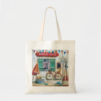 Beach Cafe Tote Bag