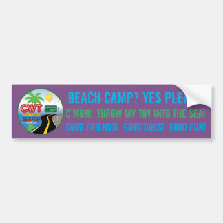 Beach Camp 2017 Sticker