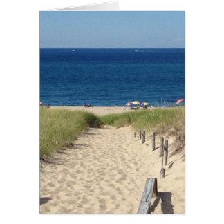 Beach Cape Cod Card
