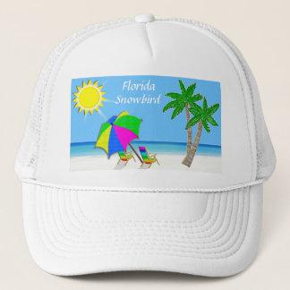 Beach Caps for Men and Women Snowbird Gifts
