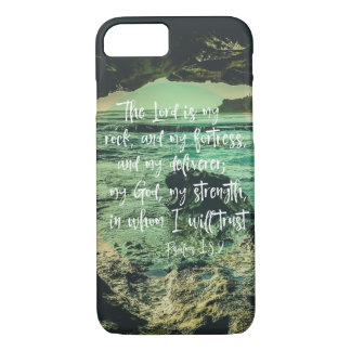 Beach Cave with Psalms Bible Verse Case-Mate iPhone Case