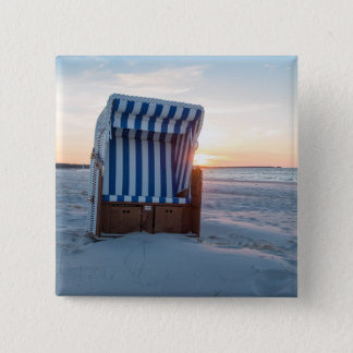 Beach chair 2 inch square button