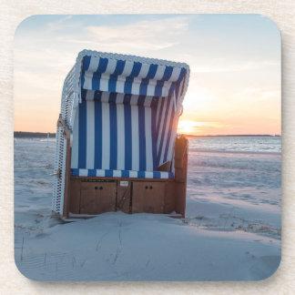 Beach chair coaster