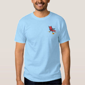 Beach Chair Embroidered T-Shirt