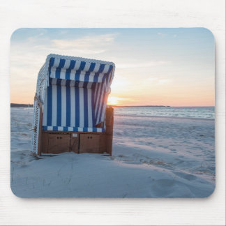 Beach chair mouse pad