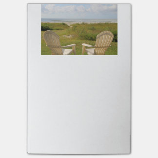 Beach Chairs on Galveston Island Post-it® Notes
