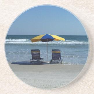 Beach Chairs on The Shoreline Coaster