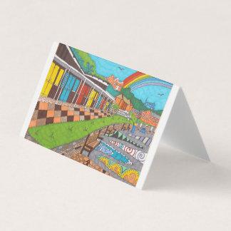Beach Chalets Card