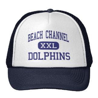 Beach Channel - Dolphins - High - Rockaway Park Hats