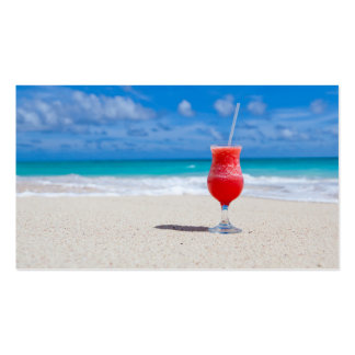 Beach Cheers Business Cards
