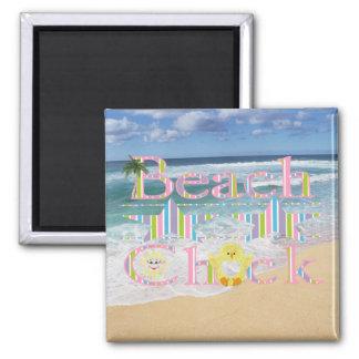 Beach  Chick Magnet