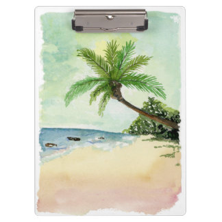 Beach Clipboard