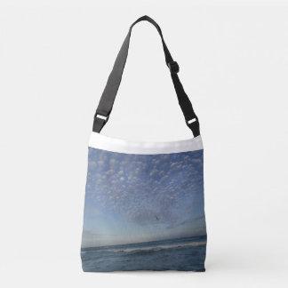 Beach Clouds Crossbody Bag