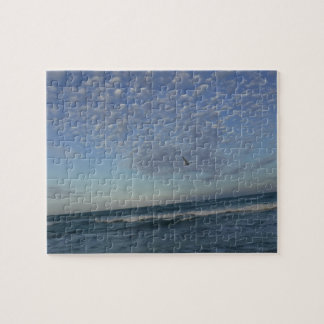 Beach Clouds Jigsaw Puzzle
