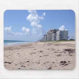 Beach Clouds Mouse Pad