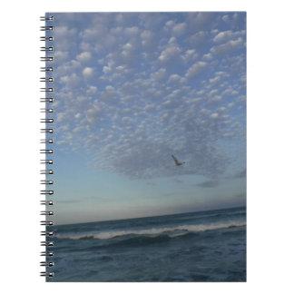 Beach Clouds Notebook