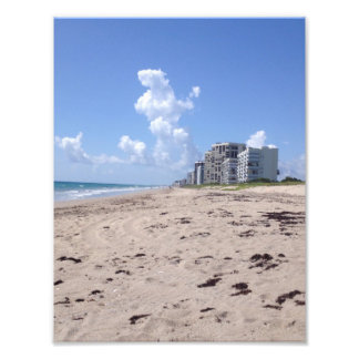 Beach Clouds Photograph