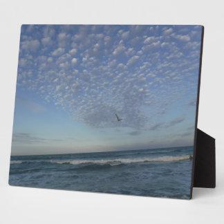 Beach Clouds Plaque