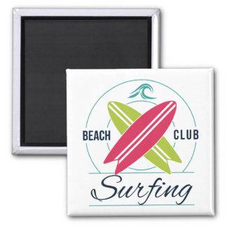 Beach Club Surfing magnet