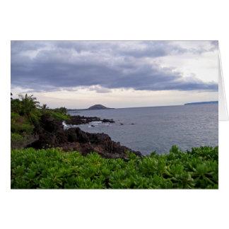 Beach Coastline Card