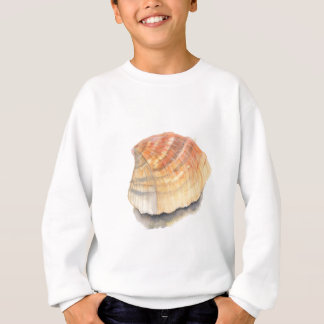 Beach Cockle Sea shell, yellow and orange Sweatshirt