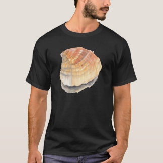 Beach Cockle Sea shell, yellow and orange T-Shirt