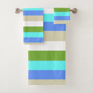 Beach colors of Sint Maarten Bath Towel Set