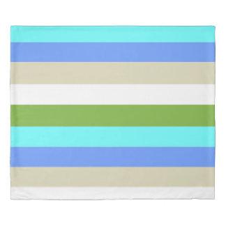 Beach colors of Sint Maarten Duvet Cover