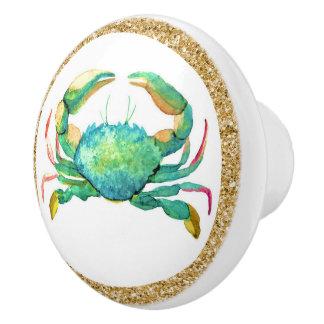 Beach Crab Drawer Knobs