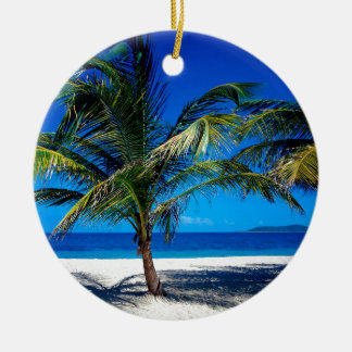 Beach Croix Us Virgin Islands Ceramic Ornament