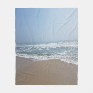 Beach Custom Fleece Blanket