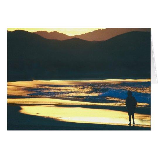 Beach Dawn Card