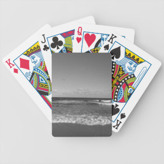 Beach Day Bicycle Playing Cards