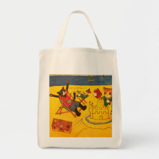 Beach Day Cats Tote Bag