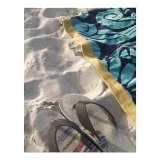 Beach Day Letterhead Design