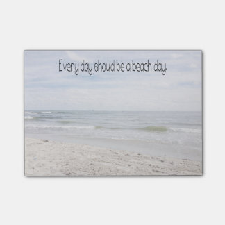 Beach Day Post-it Notes