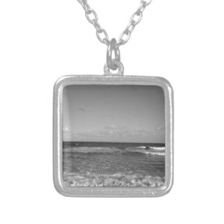 Beach Day Silver Plated Necklace