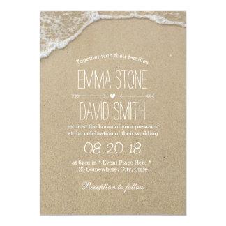Beach Destination Wedding Invitations