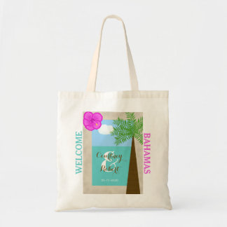 Beach Destination Wedding Welcome Bags