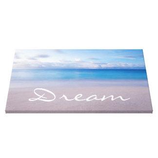 Beach Dream Wall Canvas