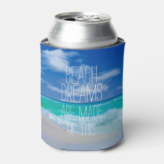 Beach Dreams Can Cooler