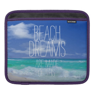 Beach Dreams iPad Sleeves