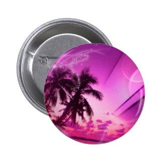 beach dreams pink button