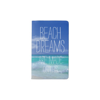Beach Dreams Pocket Moleskine Journal Notebook
