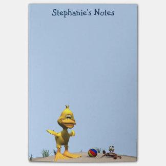 Beach Duck Post-it Notes