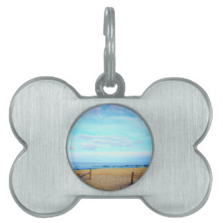 Beach Entrance Pet Tags